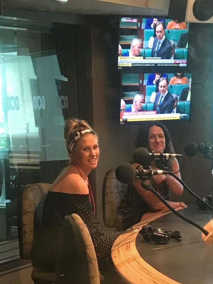 Caring mums on Radio