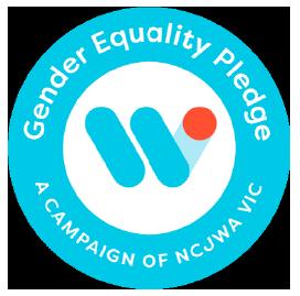 Gender Pledge Badge
